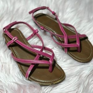 Other - Girl Pink Summer Casual Sandals Size 1